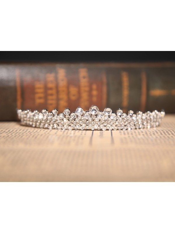 Beautiful Czech Rhinestones Wedding Headpieces
